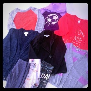 Lot of size 5 girl's clothing